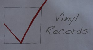 This is the Vinyl Record Helpful Check List section.